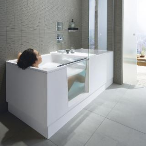 Le combi Shower+Bath de Duravit
